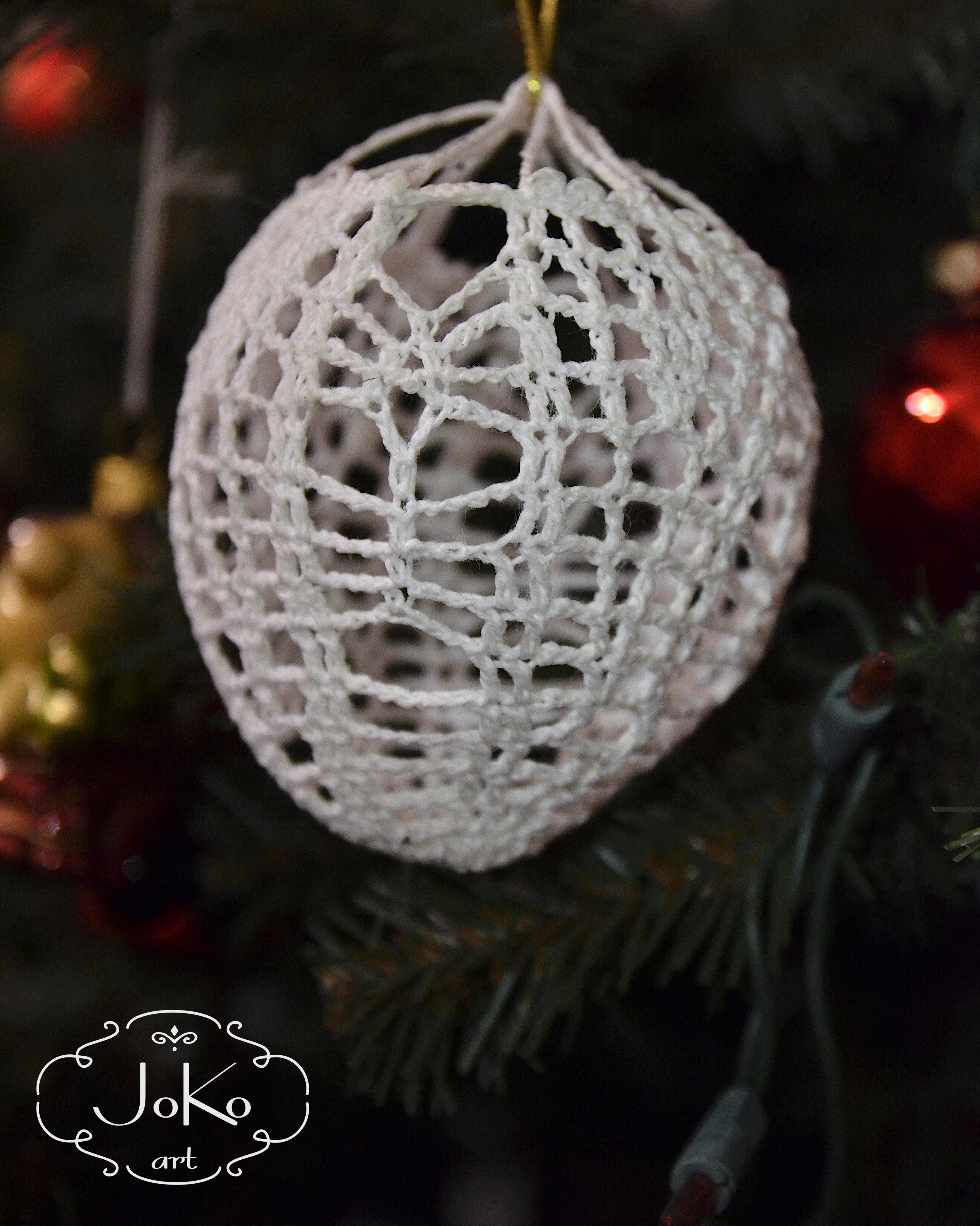 Bombka szydełkowa (Christmas bauble) 03/2014