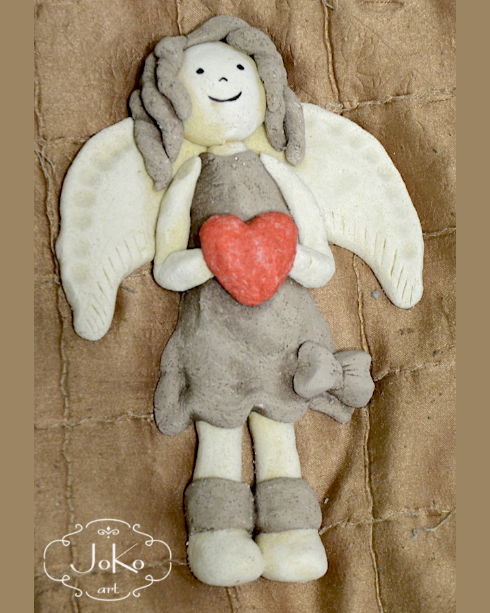 Anioł (salt dough angel) 01/2014