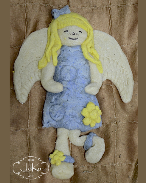 Anioł (salt dough angel) 02/2014