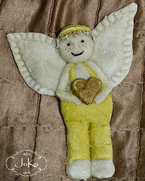 Anioł (salt dough angel) 04/2014