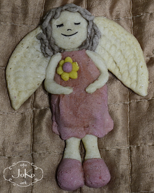 Anioł (salt dough angel) 03/2014