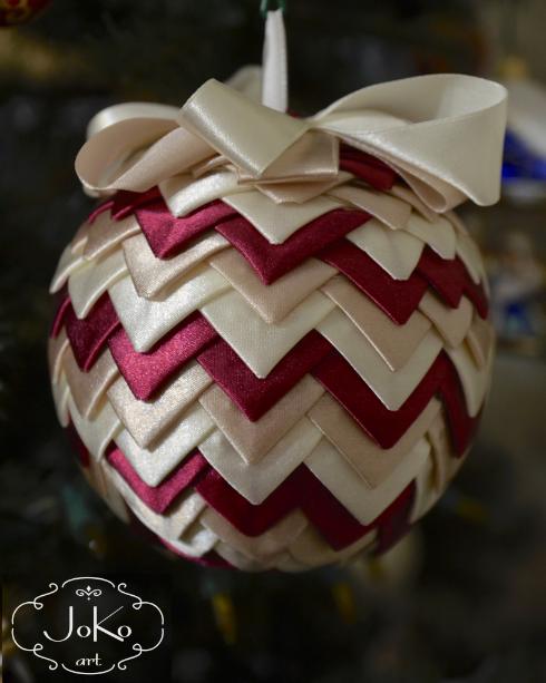 Bombka karczochowa (Christmas bauble) 03/2014