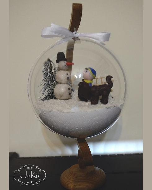 Bombka 3D (Christmas bauble) 03/2014