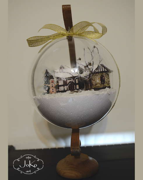 Bombka 3D (Christmas bauble) 05/2014