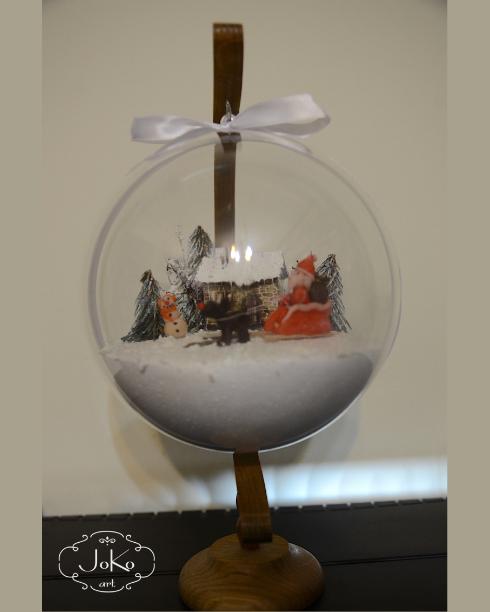 Bombka 3D (Christmas bauble) 01/2014