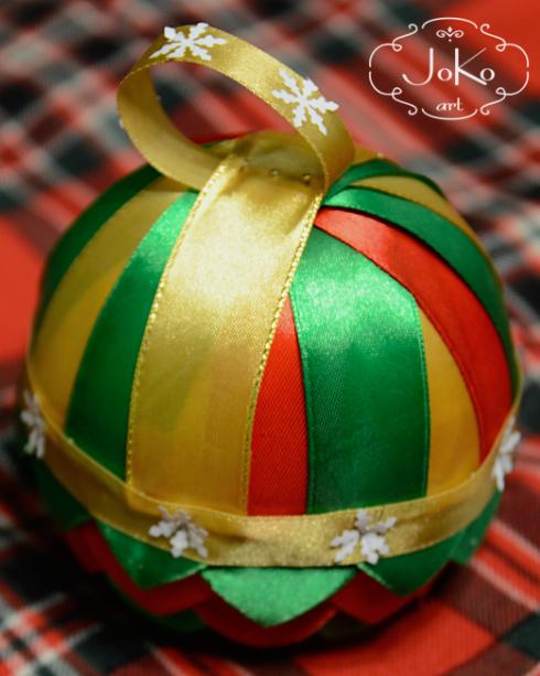 Bombka karczochowa (Christmas bauble) 01/2014