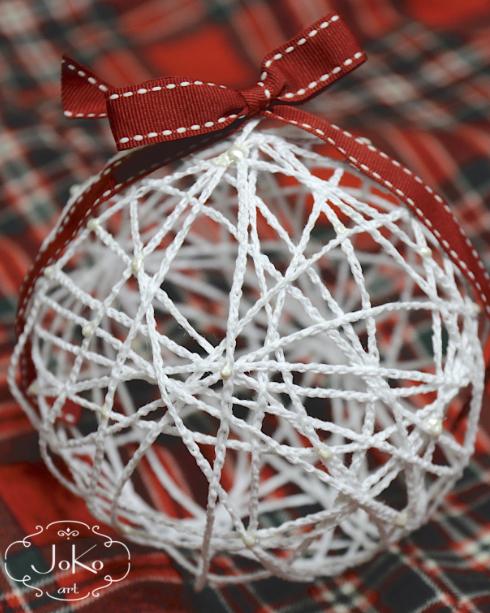 Bombka szydełkowa (Christmas bauble) 01/2014