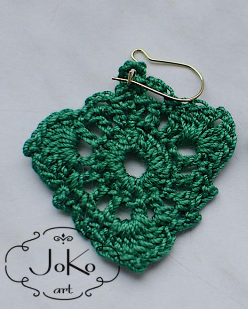Kolczyki (crochet earrings) 01/2014