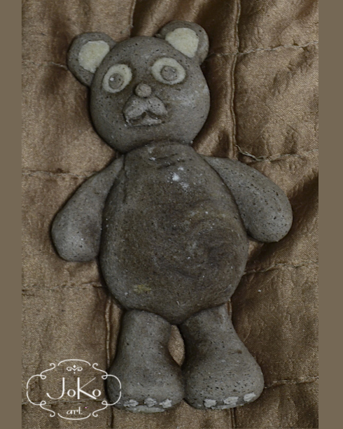 Miś (salt dough bear) 01/2014