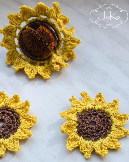 Biżuteria komplet (crochet jewelry) 02/2014