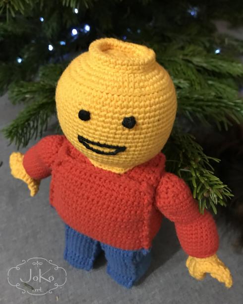 Ludzik lego na szydełku (Crochet Lego man) 12/2017