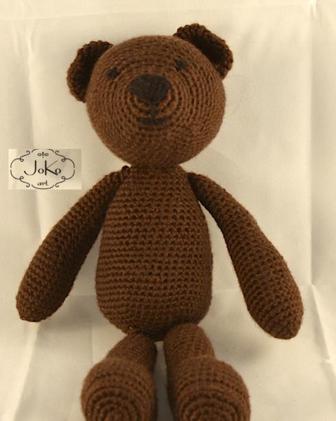Miś (crochet teddy bear) 01/2015