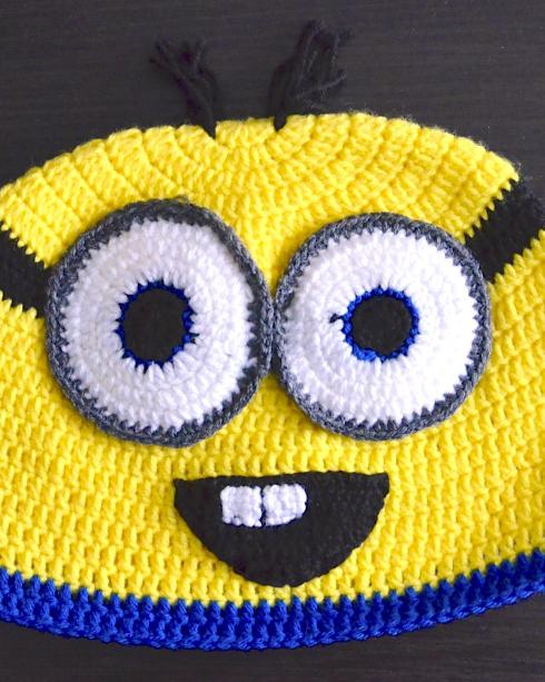 Czapka minionkowa (Minion hat) 03/2015