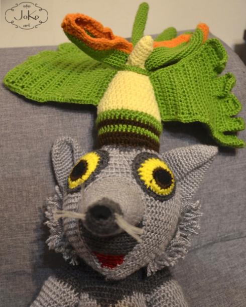 Król Julian (King Julien cuddly toy) 01/2015