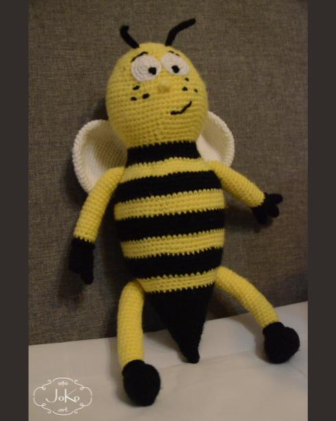 Pszczółka przytulanka (bee cuddly toy) 01/2016