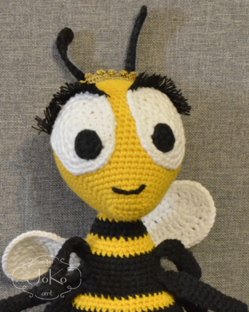 Pszczoła (bee cuddly toy) – 06/2017