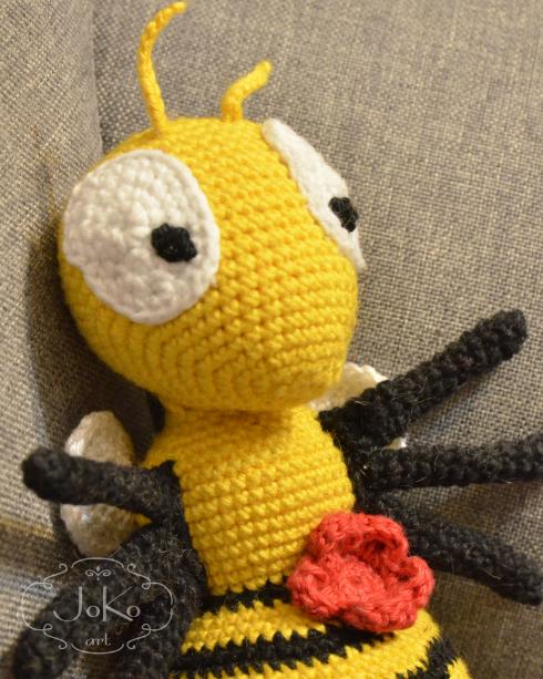 Pszczoła (bee cuddly toy) – 04/2017