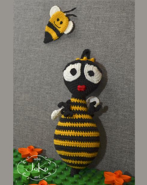 Pszczoła (bee cuddly toy) – 07/2017