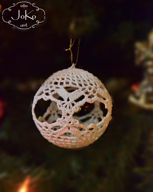 Bombka szydełkowa (Christmas bauble) 06/2014