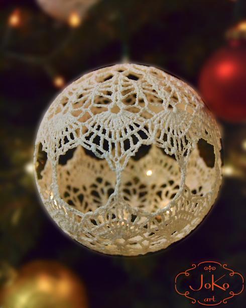 Bombka szydełkowa (Christmas bauble) 05/2014