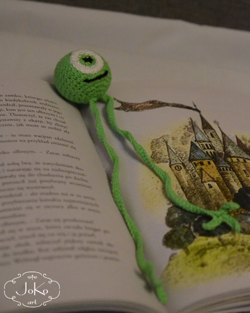 """Potworna"" zakładka (monster bookmark) 05/2016"