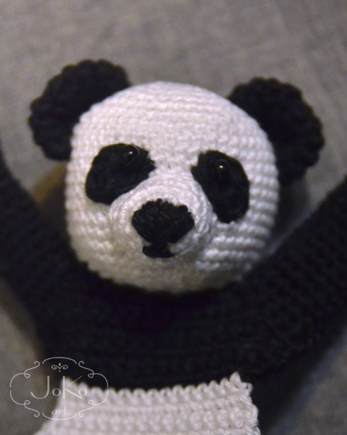 Zakładka panda (panda bear bookmark) 12/2017