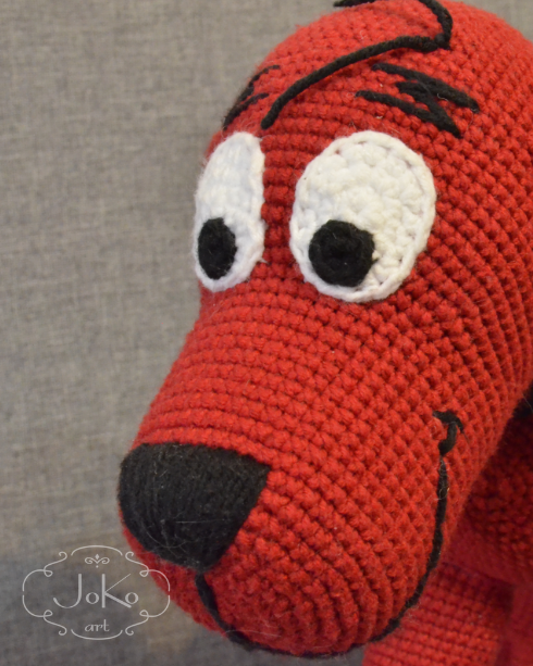 Clifford (cuddly toy) – 05/2017