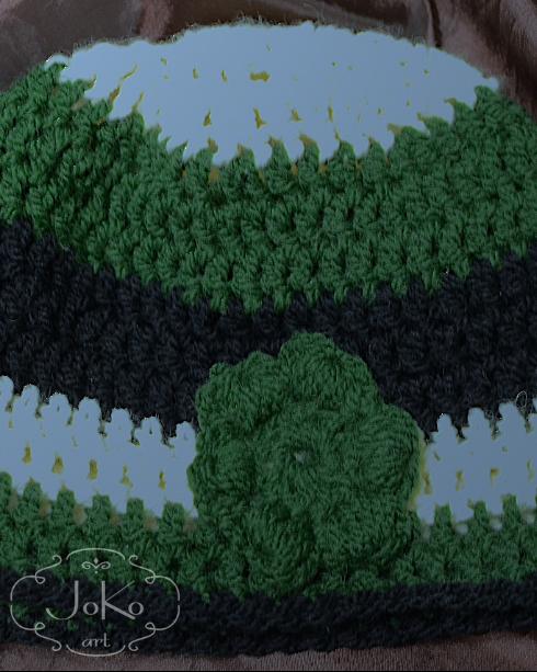 Czapka (crochet hat) 01/2014