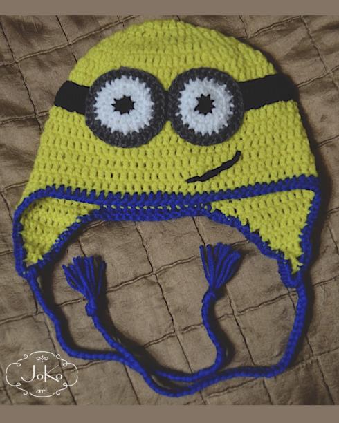 Czapka minionkowa (Minion hat) 02/2015