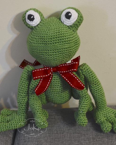 Żaba przytulanka (frog cuddly toy) 01/2016