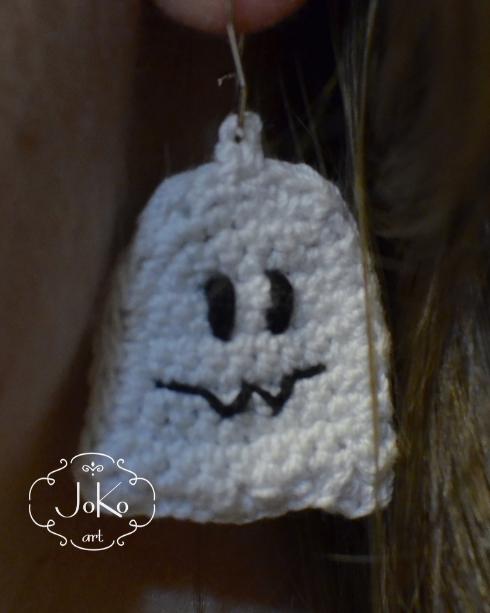 Kolczyki duszek (earrings ghost) 05/2016