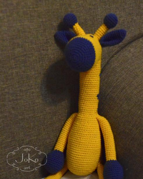 Przytulanka żyrafa (giraffe cuddly toy) 01/2016