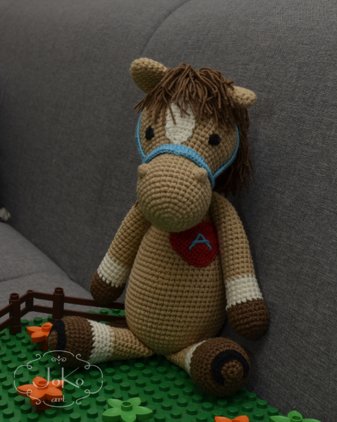 Koń (horse cuddly toy) – 08/2017