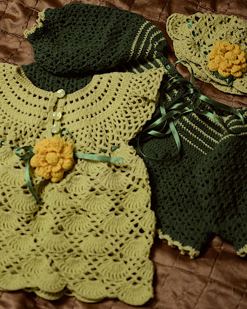 Komplet dla bobasa (baby girl set) 01/2015