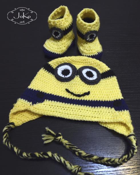 Zestaw minionkowy (crochet Minion set) 04/2016