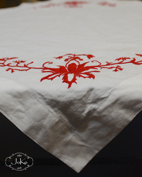 Haftowany obrus (embroidered tablecloth) 01/2015