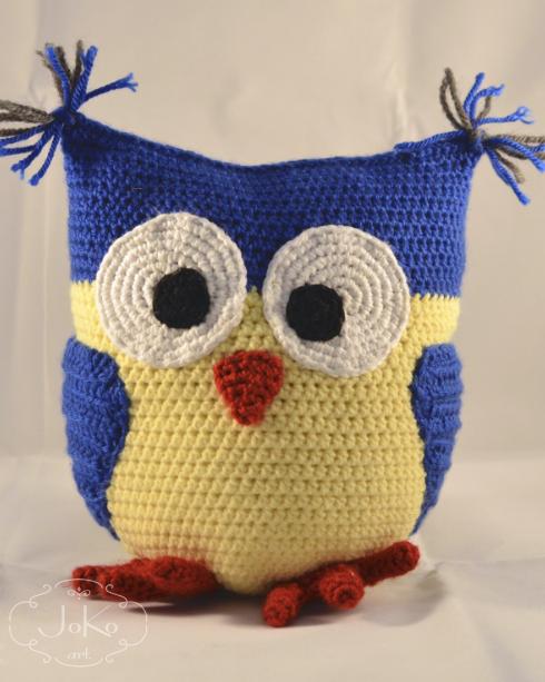 Przytulanka sowa (owl cuddly toy) 01/2016