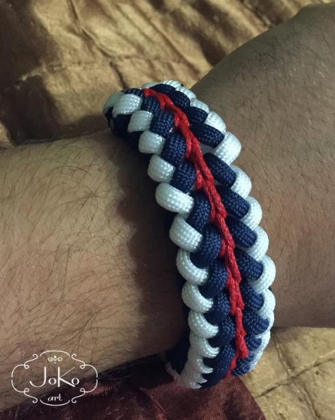 Bransoletka (paracord bracelet) 02/2015