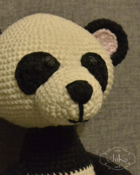 Panda (panda bear cuddly toy) – 02/2017