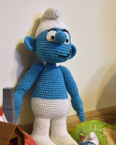 Smurf (cuddly toy) – 01/2017
