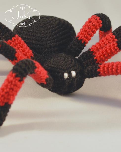 Dekoracja pająk (spider decoration) 03/2016