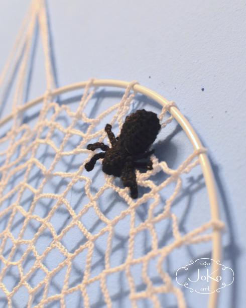 Pajęczyna mandala (spiderweb mandala) 01/2016