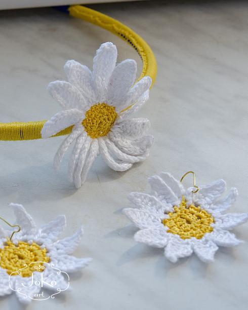 Biżuteria komplet (crochet jewelry) 03/2014