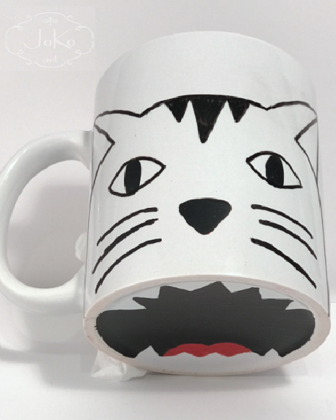 Kubek z kotem (Mug with a cat) 01/2018